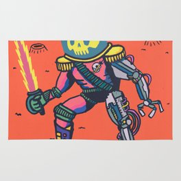 Space Pirate Rug