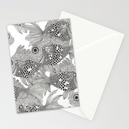 Fish School I Stationery Cards