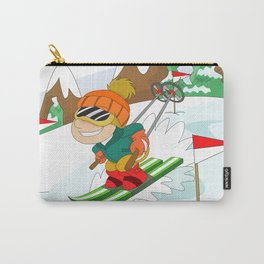 Winter Sports: Skiing Carry-All Pouch
