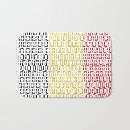 digital Flag (Belgium) Bath Mat