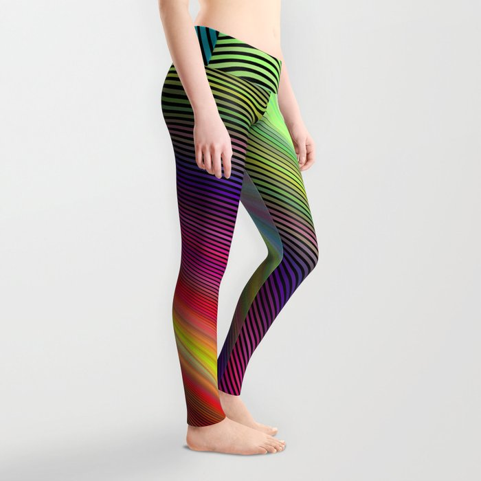 Vortex of colors Leggings
