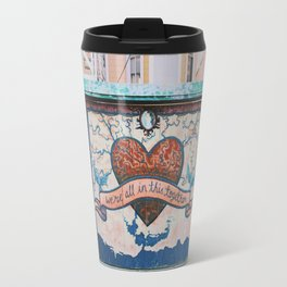 Clarion Alley mural Travel Mug