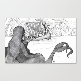 Sirens of Safe Passage Canvas Print