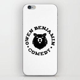 Owen Benjamin Comedy iPhone Skin
