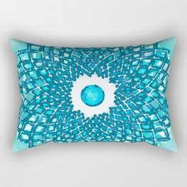 Copo Azul Rectangular Pillow