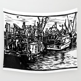 Provincetown Harbor Wall Tapestry