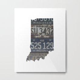 Vintage Indiana Metal Print