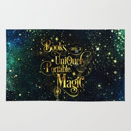 Books Are a Uniquely Portable Magic Rug