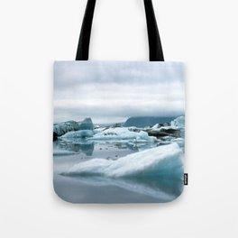 Ice Antartica Tote Bag