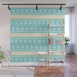Floral Easter Pattern D Wall Mural