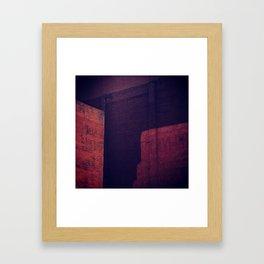 Red MTL Framed Art Print