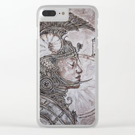 time warrior Clear iPhone Case