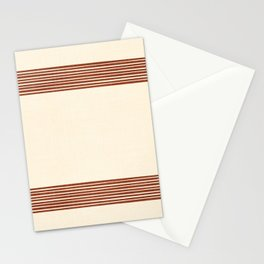 Band in Rust Stationery Cards