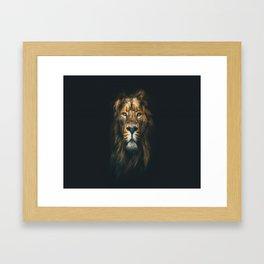 Lion ,animal Framed Art Print