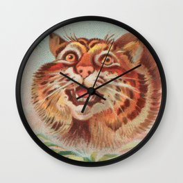 American Wild Cat by A&G Wall Clock