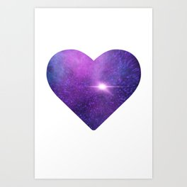 Nebular Love Art Print