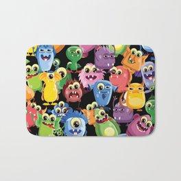 cute monsters Bath Mat