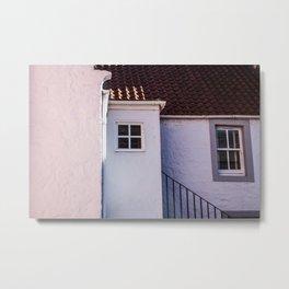 Pastel Cottage Metal Print