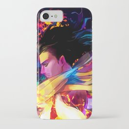 Neon Head iPhone Case
