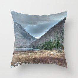 Frozen Franconia Notch Throw Pillow