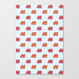 Elephant no.1 Canvas Print