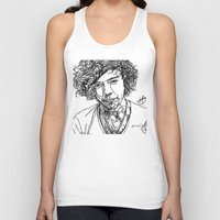 harry styles Tank Tops featuring Harry Styles by Hollie B