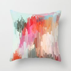 Everything will flow Throw Pillow