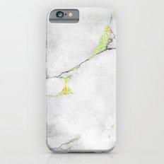 Yellow Cracked Design iPhone 6s Slim Case