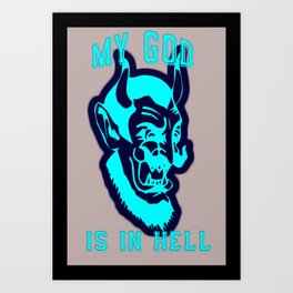 My God Art Print