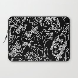 Black print Laptop Sleeve