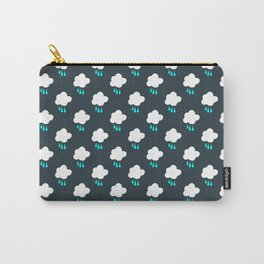 Rain Cloud Pattern Carry-All Pouch