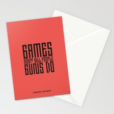 PAUSE – Games don't Kill Stationery Cards