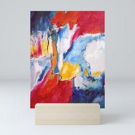 Come Down Isaiah 64 Christian Abstract Mini Art Print