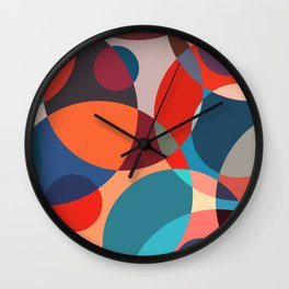 Crowded place Wall Clock