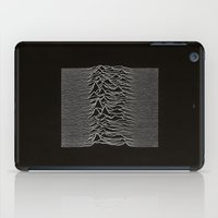 joy division iPad Cases featuring Joy Division by TheSiro