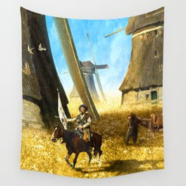 Giants on the Plains Wall Tapestry