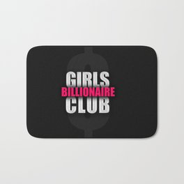 Billionaire Girls Club Bath Mat