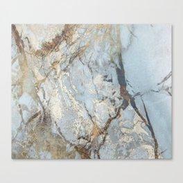 Marble swirls Canvas Print