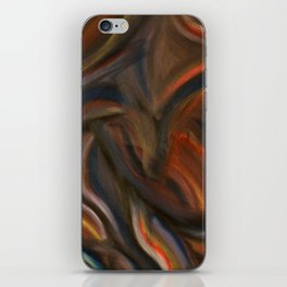 Seated Torso iPhone Skin