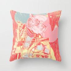 digital#1 Throw Pillow