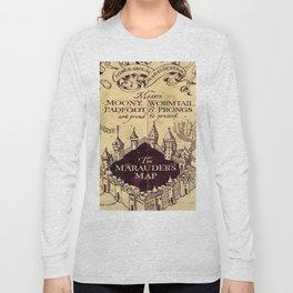 bown map Long Sleeve T-shirt