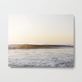 Beach Wave Metal Print
