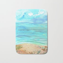 Beachy Abstract Bath Mat