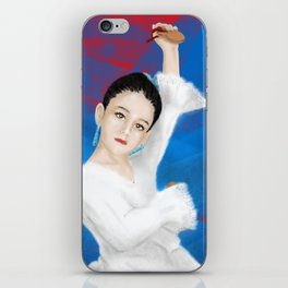 Little spanish girl iPhone Skin