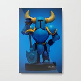 """Shovel Knight"" Metal Print"