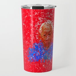 Destructured portraits Travel Mug