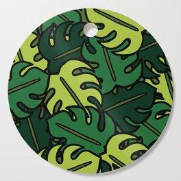 Monstera Leaf Pattern Cutting Board