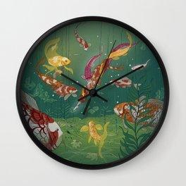 Ukiyo-e tale: The magic pen Wall Clock