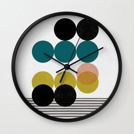 symphony circles Wall Clock