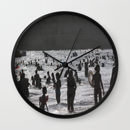 Shadow Beach Wall Clock